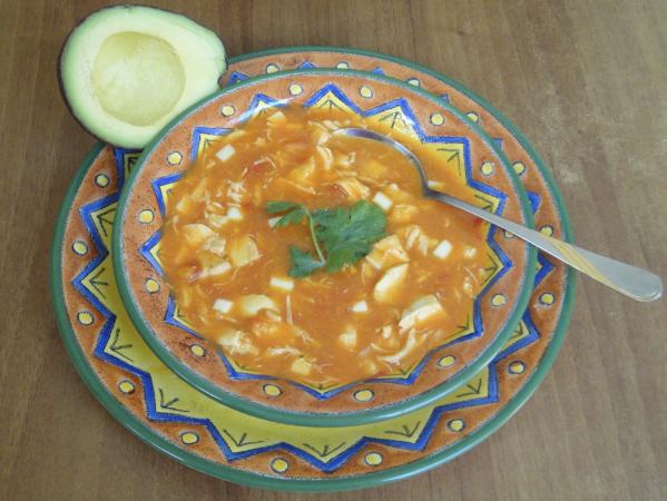 Mexican Sopa Azteca