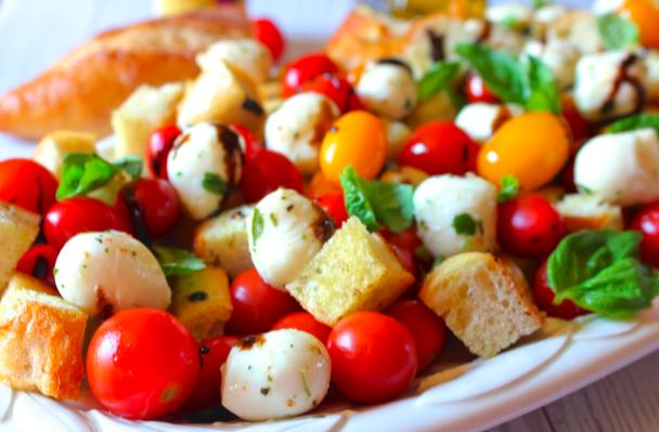 salad grilled cheese panzanella salad grilled summer panzanella salad ...