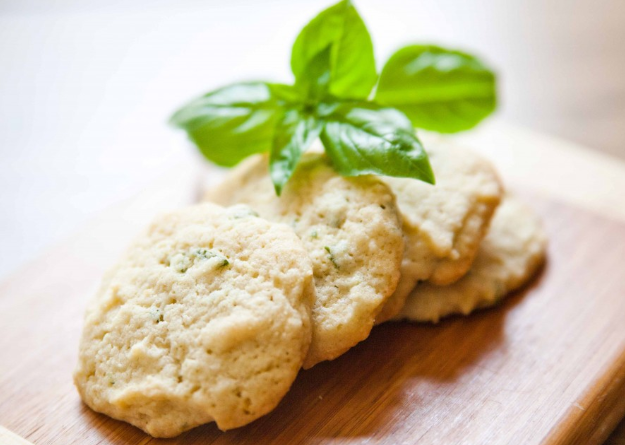 basil lemon cookies