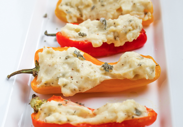 cream cheese stuffed bell peppers