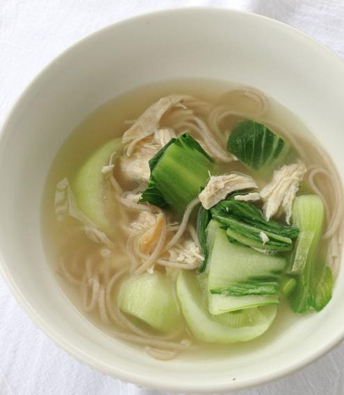 Pechay Chicken Soup