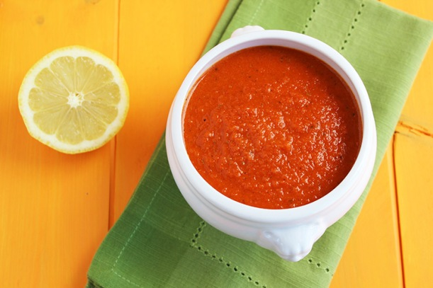 Roasted-Red-Bell-Pepper-Sauce